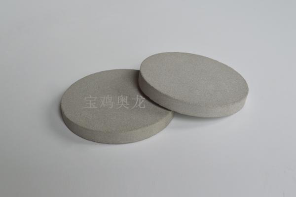 0.5厚钛烧结过滤板烧结多孔金属材料过滤材料电极基体材料