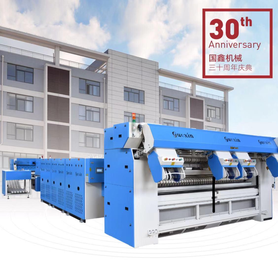 专业洗涤设备厂家 水洗厂高速烫平机折叠机 四工位展布机 送布机