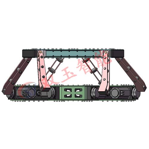 大型游乐设施 机械升降平台40吨高精度六自由度电动运动平台