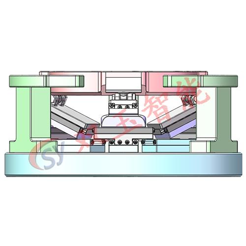生产厂家六自由度高精度纳米级微动平台 高精度关节机器人