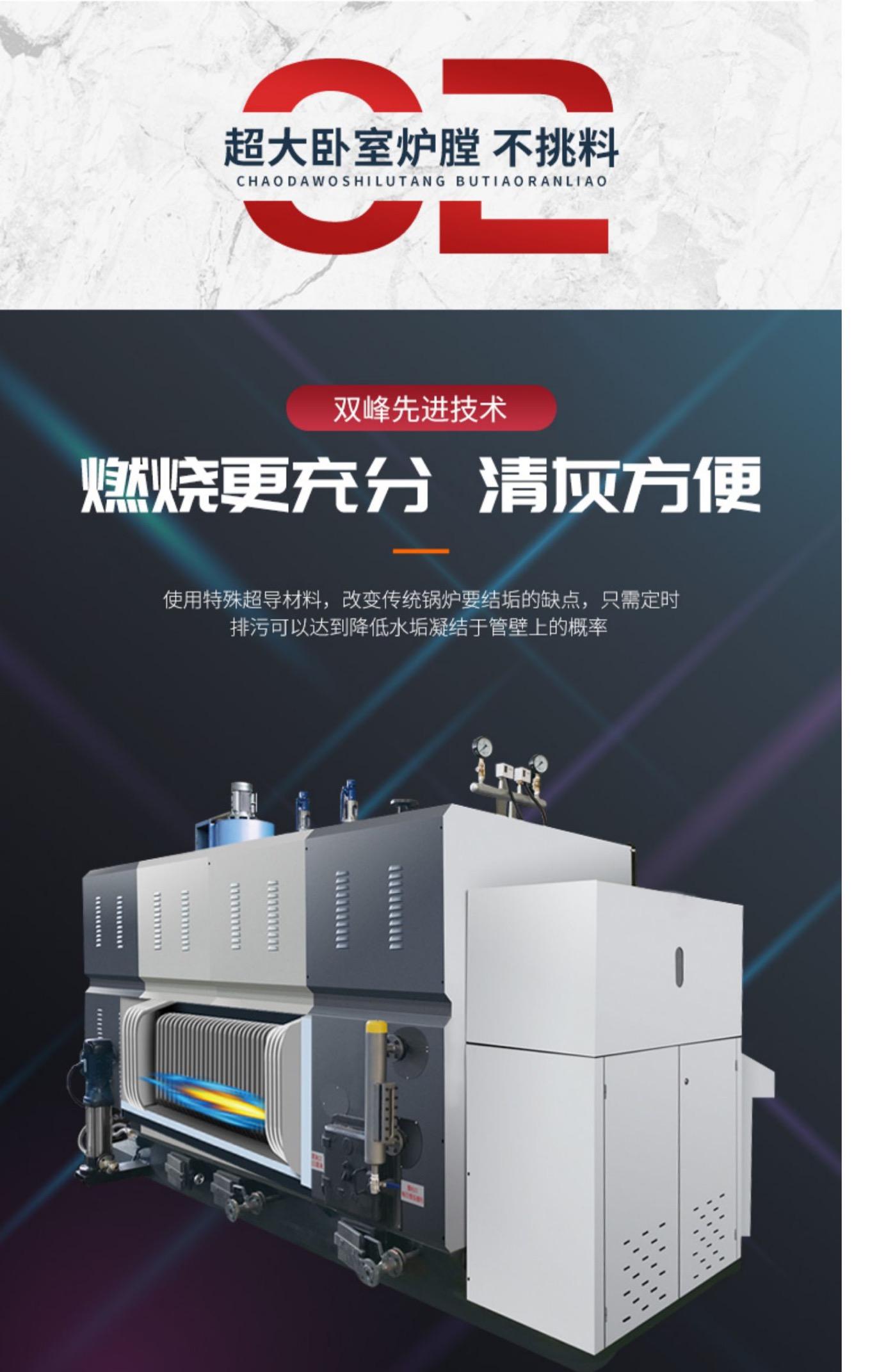 蒸汽发生器 免办证锅炉 生物质颗粒蒸汽发生器 天然气燃油蒸汽发生器