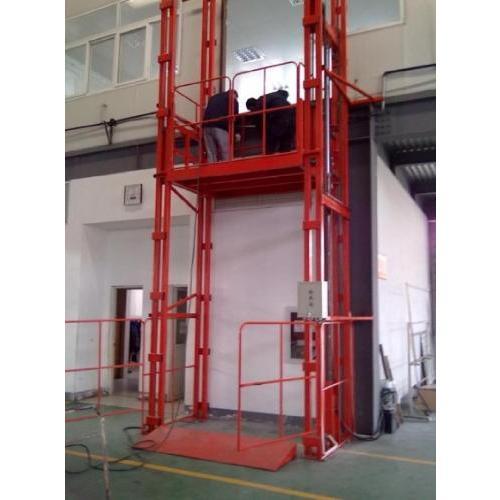 导轨式液压升降平台  导轨式升降机 升降货梯
