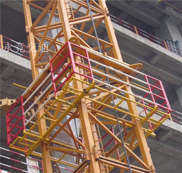 贵州贵阳建筑工地塔吊防护栏棚定制批发