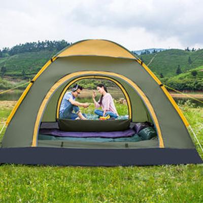 贵州厂家现货供应全自动户外帐篷防雨户外双人双层免搭建3-4人帐篷套装
