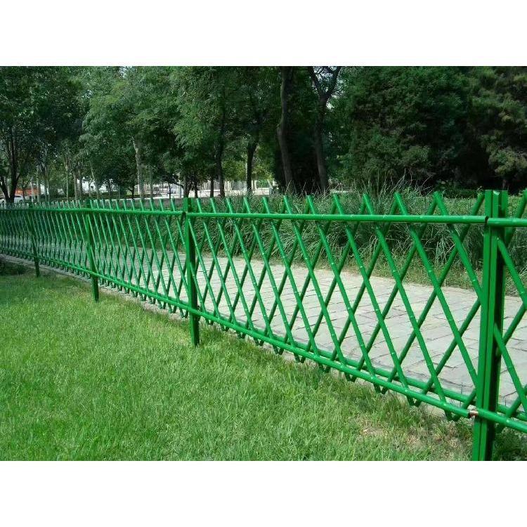 西安防护网厂家  仿竹防护网 围挡栏杆