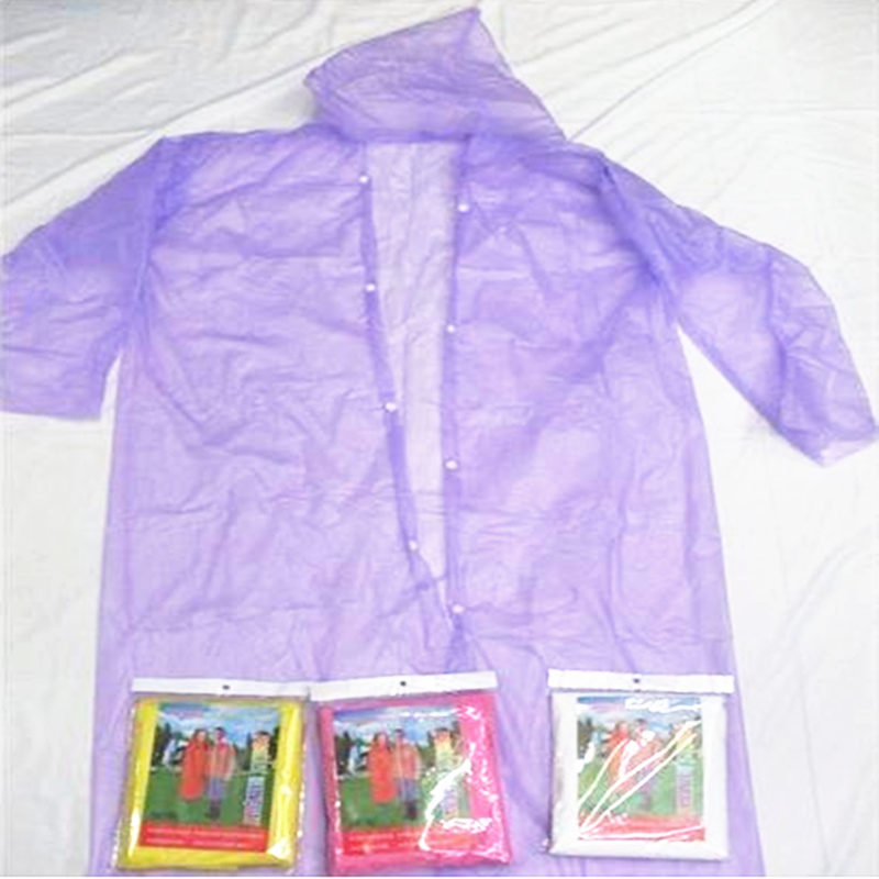 防暴雨户外徒步雨披雨鞋 防水雨衣 旅游便携式雨衣 特大号雨衣