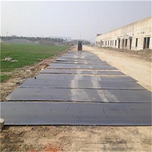 平整钢板租赁 钢板租赁 铺路钢板出租 钢板出租厂家