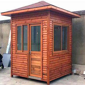 贵州厂家价木质岗亭定做厂