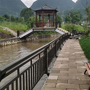 贵州厂家现货供应河道防护栏不锈钢复合管桥梁护栏河道景观防撞