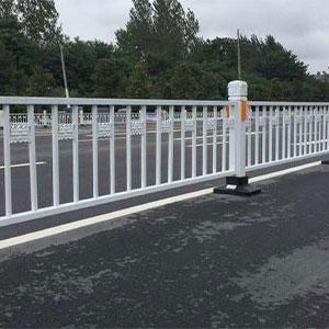 六盘水人行道防护栏人车分流栏人行道交通防护防撞栏杆 0.6m单独柱子