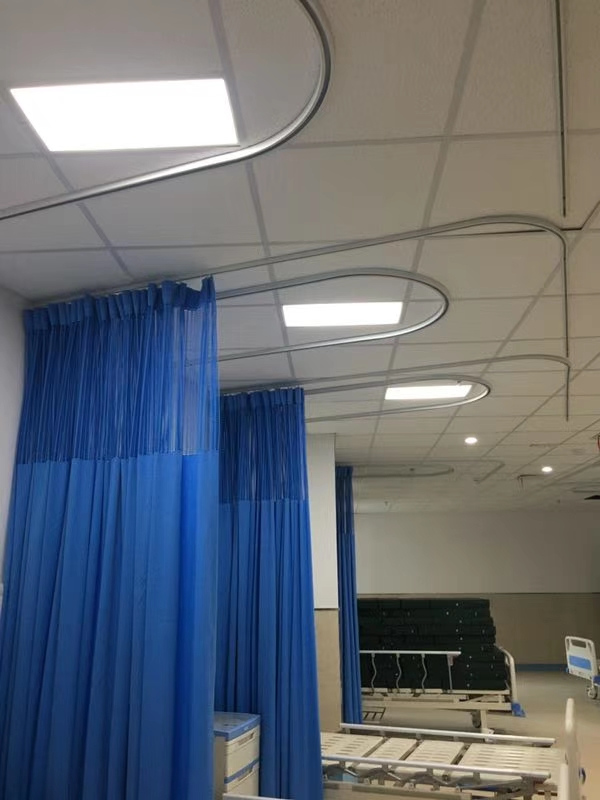 医院用输液轨道 铝合金输液滑轨 病房用隔帘轨道厂家批发