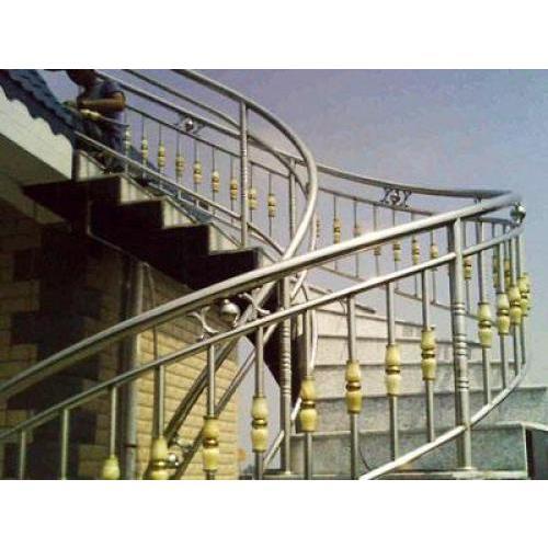 西安不锈钢楼梯扶手生产厂家 楼梯扶手定制 西安激光切管厂家