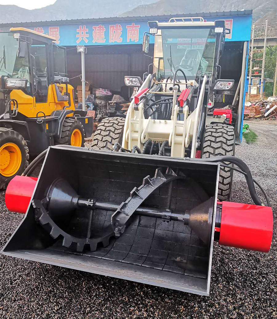 三能搅装SN1500甘肃混凝土搅拌装载机移动搅拌装载机甘南三能搅装
