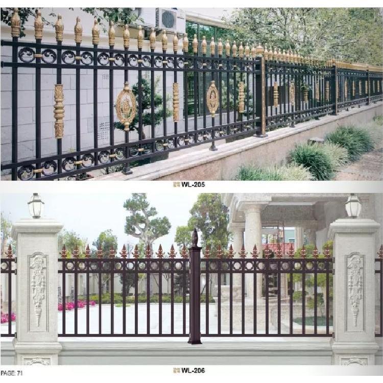 铝艺围栏 别墅围栏 小区围栏