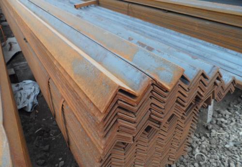 陕西角钢现货供应 热轧角钢厂家直销 等边角钢加工