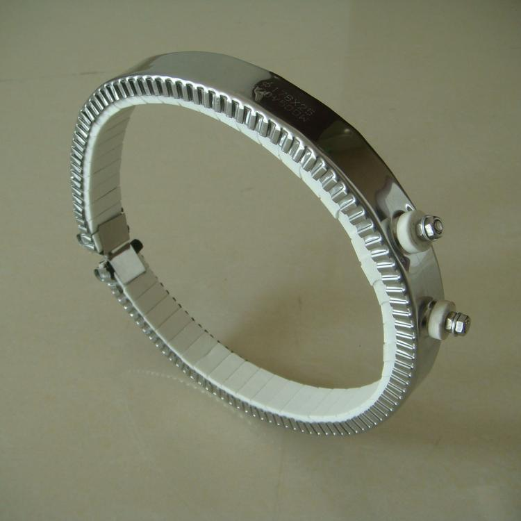 厂家定制陶瓷加热圈 铸铜加热圈 铸铝加热圈