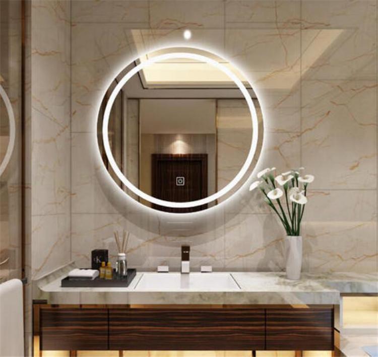 圆形智能镜 壁挂智能镜 西安智能镜厂家