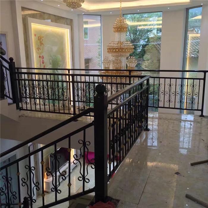 陕西楼梯护栏 阳台护栏定制  室内外楼梯围栏 走廊护栏围栏厂家定制