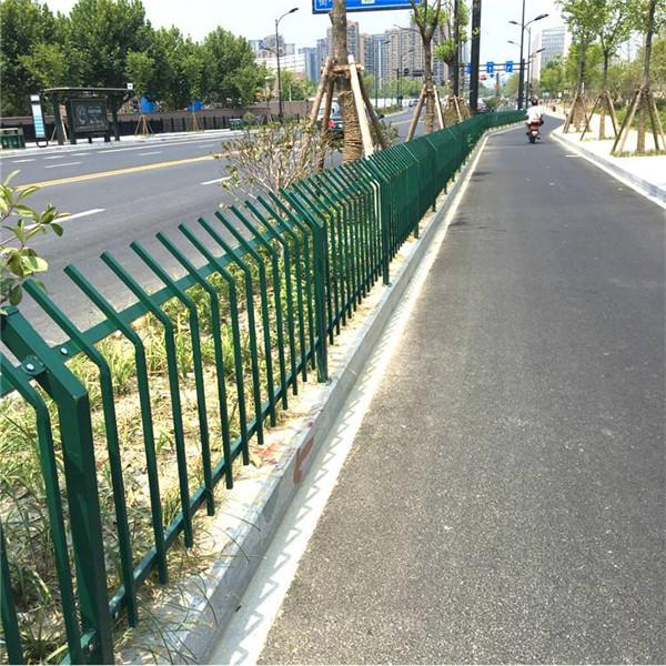 陕西绿化护栏厂家直销  花园护栏 草坪护栏定制