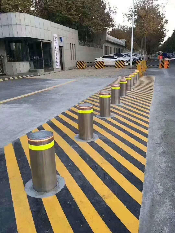 甘肃兰州升降柱、道路升降柱、道路路障器、道路阻车器