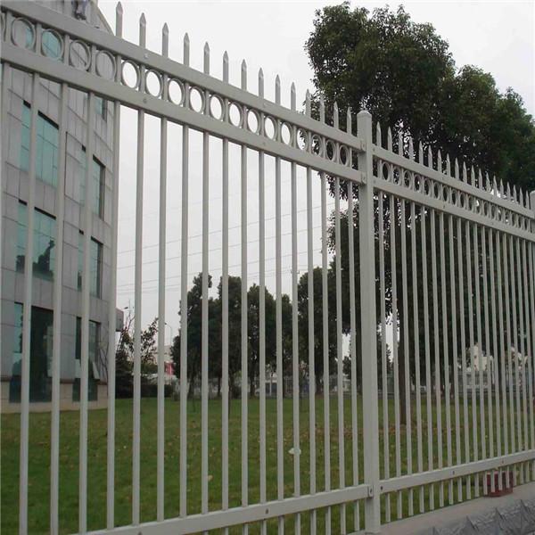 陕西锌钢护栏 西安小区护栏 别墅护栏厂家