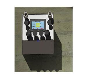 双针双管压力表检定装置