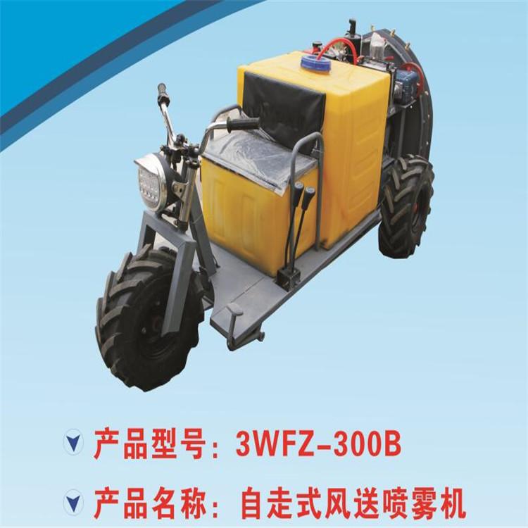 陕西自走式风送喷雾机 3WFZ-300B喷雾机生产厂家