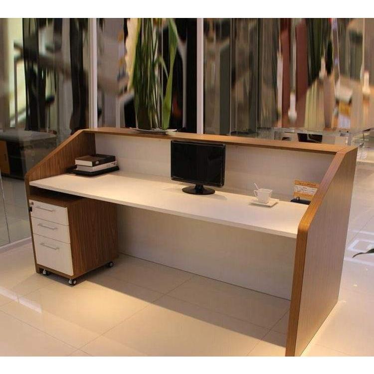 贵州定做公桌前台接待台小型吧台前台接待台现代主管经理桌老板办公桌
