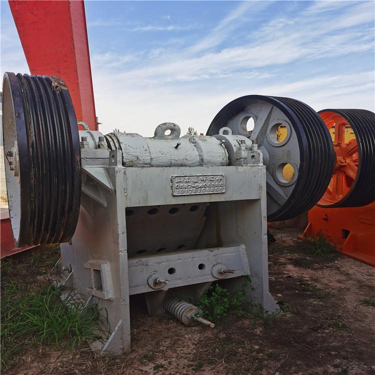 西安鄂式破碎机厂家 可移动鄂破机 推荐价格实惠 石料鄂破设备二手设备
