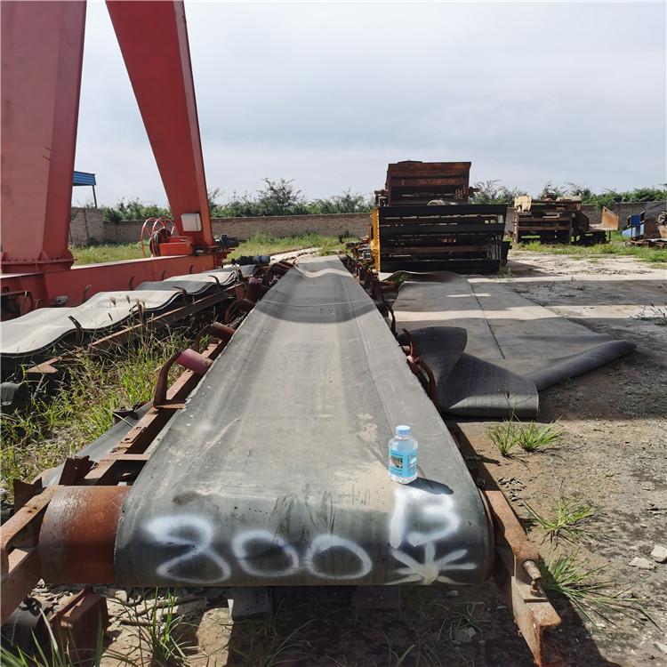 蒲城砂石送料机厂家800型皮带输送机 蒲城二手砂石输送设备