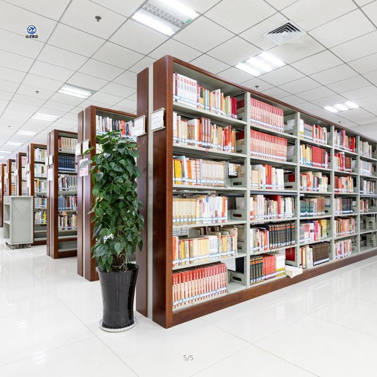 贵州厂家定做图书馆书架   学生木质书批发厂家 钢制图书馆书架定制