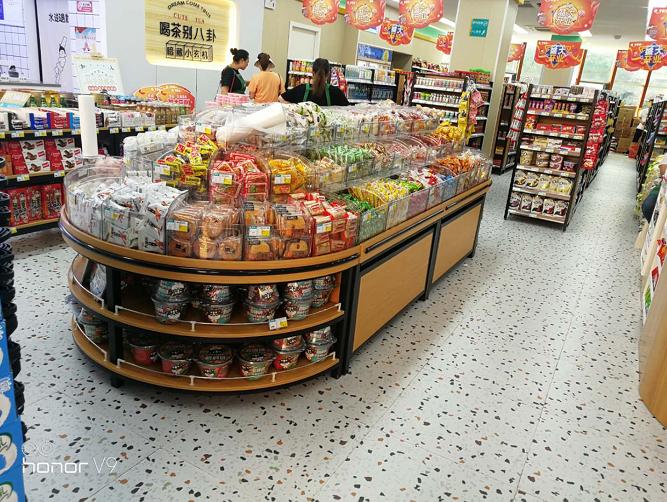 贵州钢木散称食品柜,贵阳超市便利店厂家,贵阳食品散装柜定做