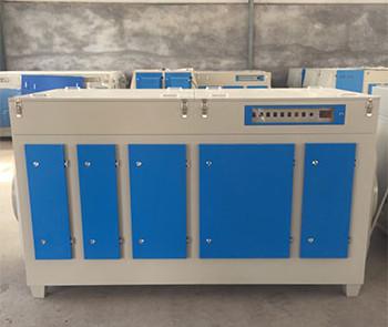 PCR实验室废气处理杀菌除味自重轻耐酸碱进口灯管UV光氧催化