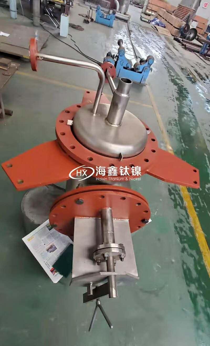陕西烧碱设备配件厂家 碱液分配弯管 碱液分配器价格