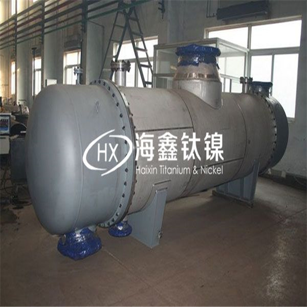陕西钛换热器厂家加工定制 蒸发式冷凝器 镍蒸发器 热交换设备价格