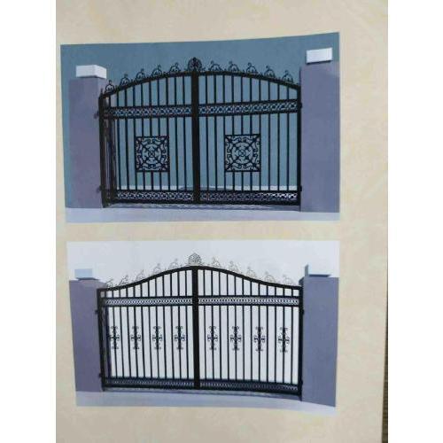 生产定制铁艺防护栏 铁艺防护栏产厂家