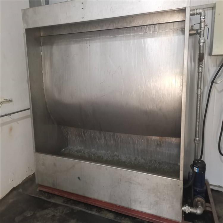 西安废气处理设备 水帘式喷漆净化器 环保设备