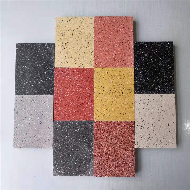 室外广场砖 防滑地砖磨 光面PC砖 新型环保PC砖路面砖