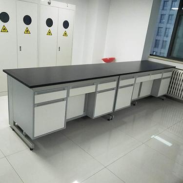 西安钢木试验台实验室家具定制实验室设计PP全钢全木实验台实验室工作台