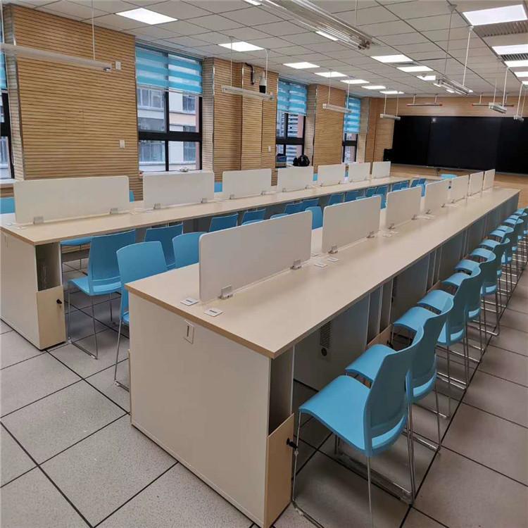 西安学校机房学生电脑桌 机房电脑桌价格