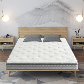 酒店床垫 独立袋装弹簧床垫 平凉席梦思乳胶椰棕床垫厂