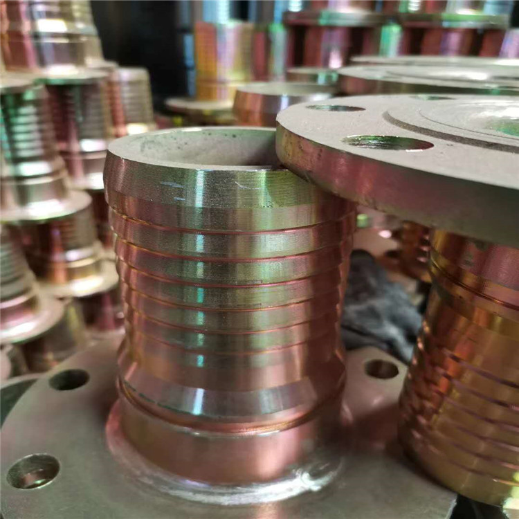 陕西胶管接头厂家 定制法兰式胶管接头 大口径法兰式扣压胶管接头