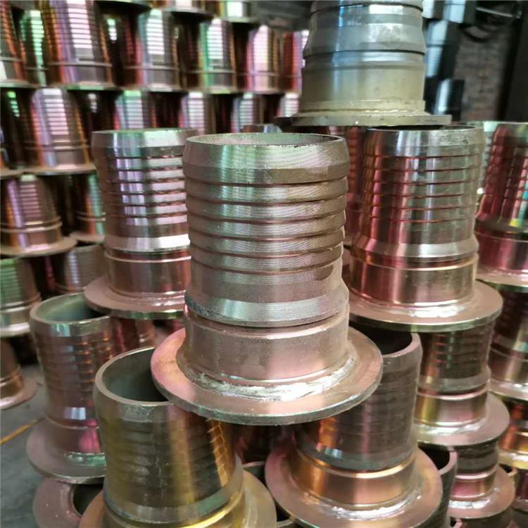 西安法兰胶管接头  厂家直供大口径可拆式双法兰松套传力接头