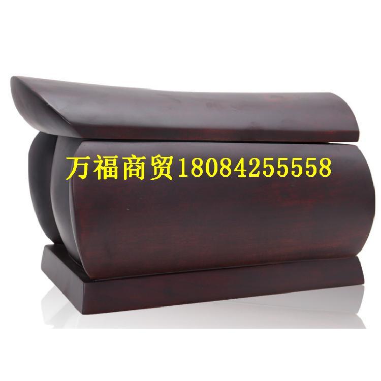 贵州厂家现货供应49公分小黑檀土棺材