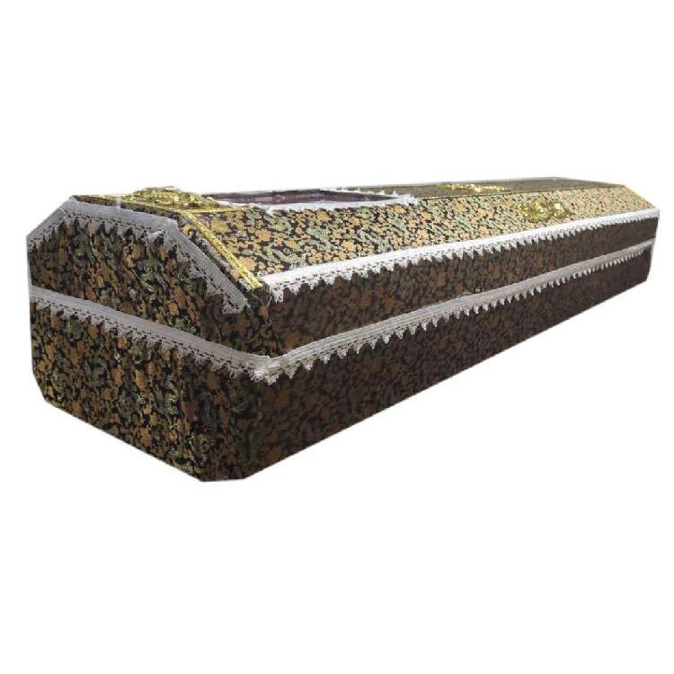 贵州万福厂家直销殡葬用品批发高档纸棺材七层纸棺