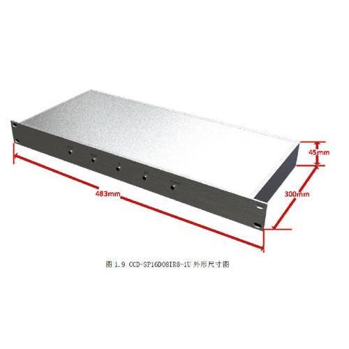 西安CCD-SP16DO8IR8-1U 集中控制器供应商