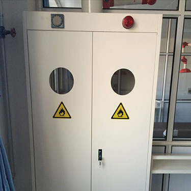 固原气瓶柜功能柜实验室家具定制耐酸碱腐蚀