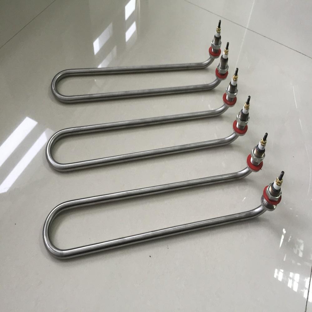 非标定制不锈钢U型加热管 定做各种形状加热管 潜水型加热管