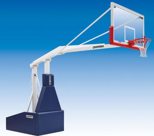 贵州厂家送货上门户外标准篮球架固定地埋式篮球架C3加厚比赛款200mm