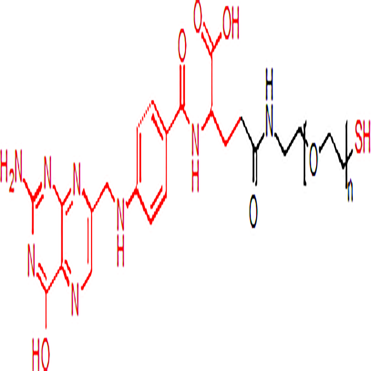Folate-PEG-SH 叶酸-聚乙二醇-巯基